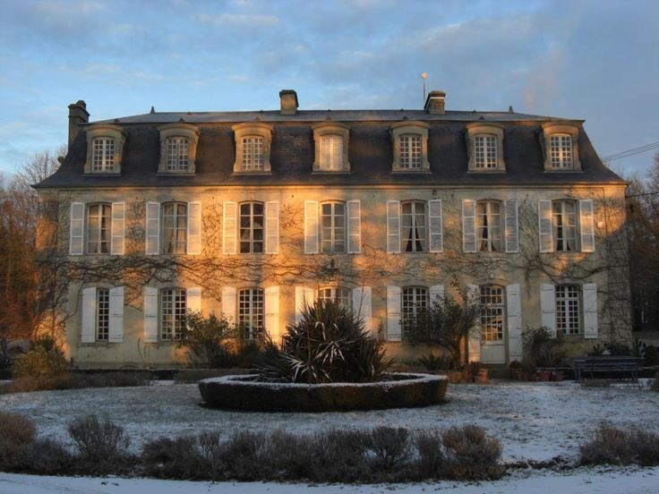 17th and 18th century chateau located in the heart of for French mansard roof
