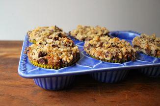 Chocolate Banana Streusel Muffins Recipe on Food52, a recipe on Food52
