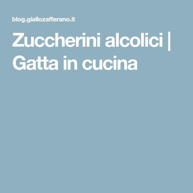 Zuccherini alcolici | Gatta in cucina