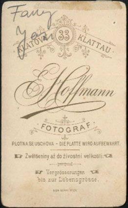 Klatovy, Hofmann, revers