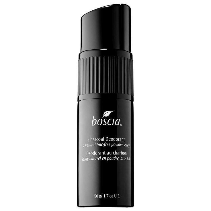 Boscia Charcoal Deodorant Natural Talc Free Powder Spray