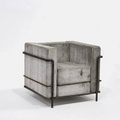 le corbusier lc2 chair beton brut corbu pinterest mobilier optique et meubles. Black Bedroom Furniture Sets. Home Design Ideas
