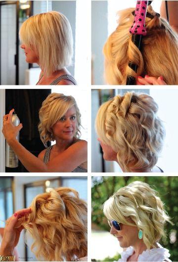Cool 1000 Ideas About Curl Short Hair On Pinterest Shorter Hair Short Hairstyles Gunalazisus