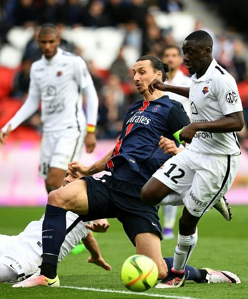 El popular Zlatan Ibrahimovic, a favor del PSG.