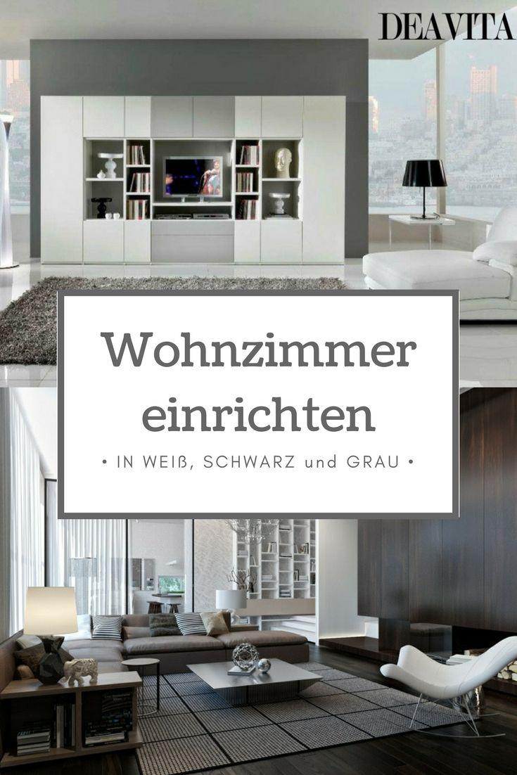 25+ best ideas about wohnzimmer einrichten on pinterest | ecksofa ... - Wohnideen Weiss Farben Modern Interieur