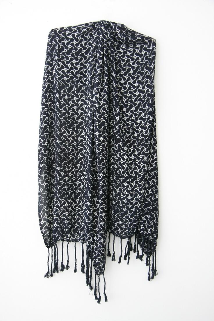 Scarf - Limited edition handprint batik scarf - Christianto (Brand new!) | eBay