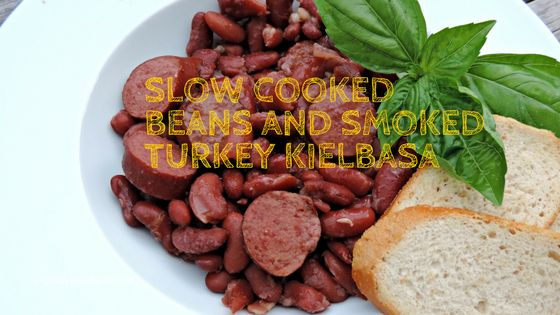 """I added """"Slow Cooked Beans & Jennie-O Smoked Turkey Sausage"""" to an #inlinkz linkup!http://bit.ly/2fhs4Ng"""