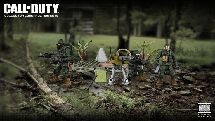 Call of Duty - Customizer | Mega Bloks - Collectors | Used ...
