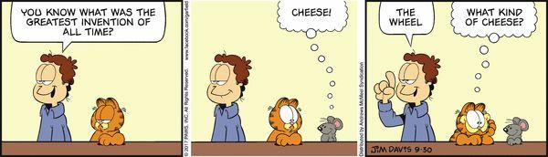 Garfield for 9/30/2017