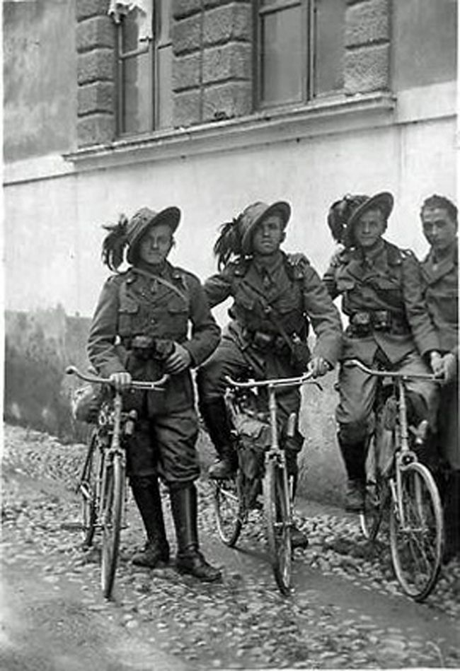 Bicycles of World War 1