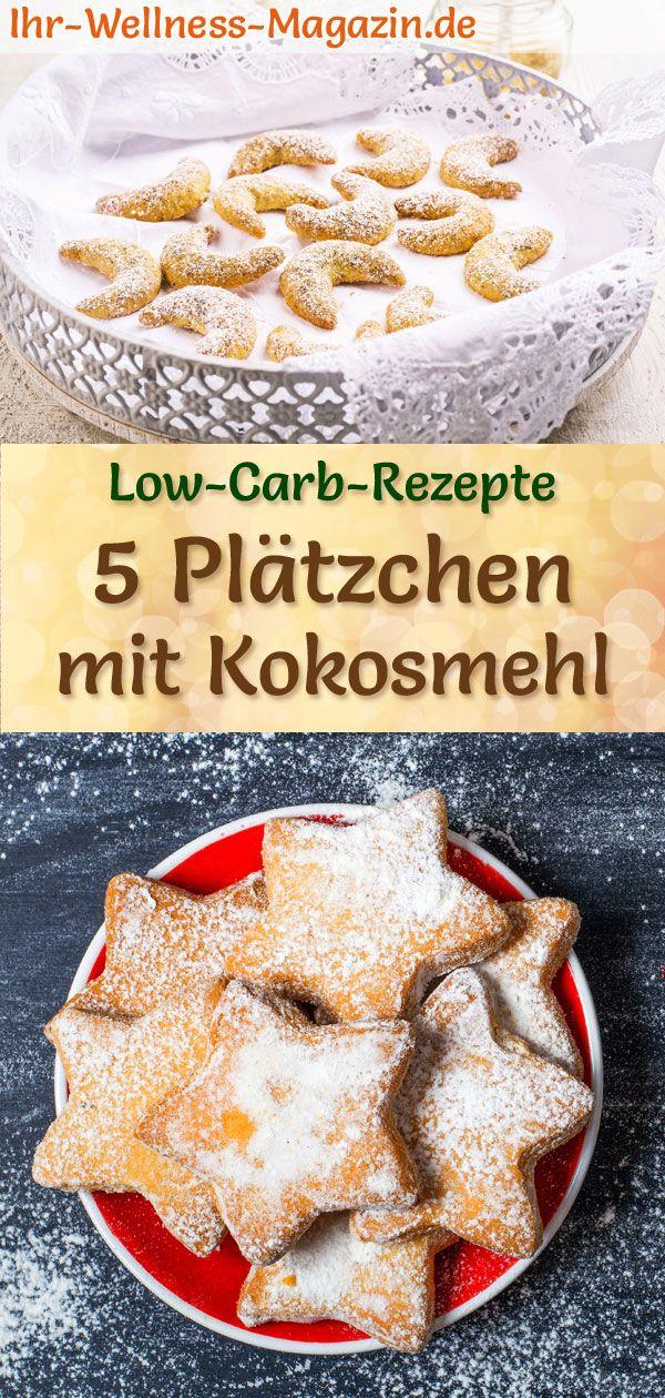 5 Plätzchen-Rezepte mit Kokosmehl – Low Carb, einfach, ohne Zucker