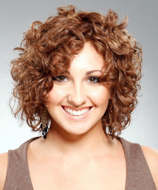 Naturally curly hairstyles for short