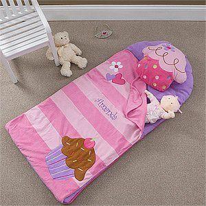 Cupcake sleeping mat/bag! So cute!