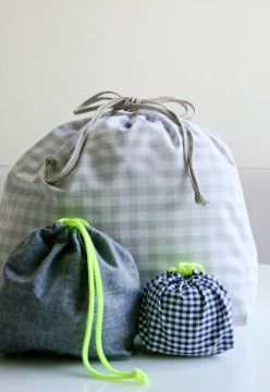 purl bee drawstring bag tutorial
