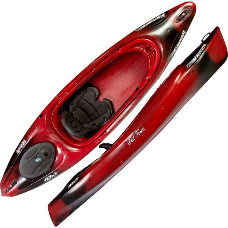 Old Town Canoe Vapor 10XT Kayak, Black Cherry