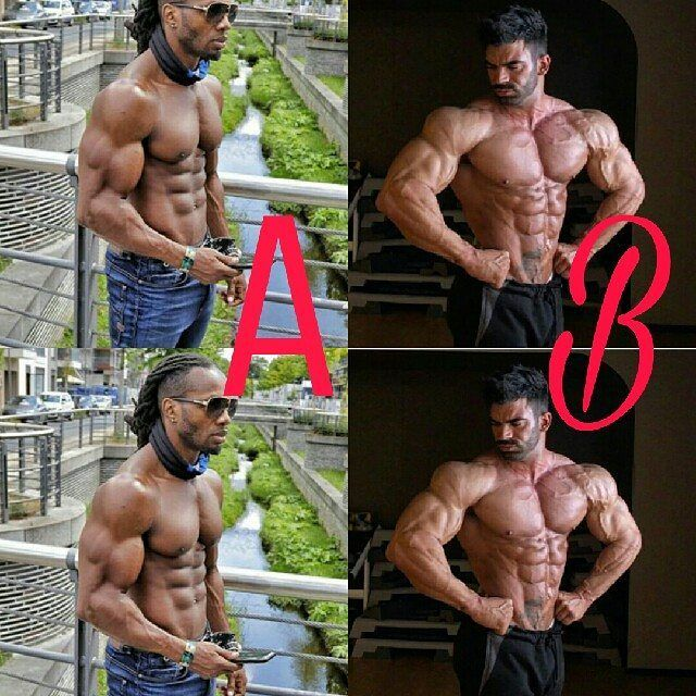 A or B ..? A - @ulissesworld  B- @sergiconstance  Follow for more @fitness__warriors . . . . . . . . . . . #i #you #biceps #triceps #fitlife #deadlift #workoutmotivation #workout #training #aesthetics  #fitnessmotivation #fitness #modeling  #fitnessmodels #fitnessfreak  #bodybuilding , #crazyboys #gym  #gymlife #wwe #student #gain #train #muscle #fashion #fashionblogger #fashionshow #fashions #transformation #fitness__warriors http://butimag.com/ipost/1555794679349878575/?code=BWXSwSWF58v