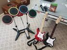 Rock Band 4 Band-in-a-Box Bundle (Microsoft Xbox One 2015) Drums 2 Guitars Mic
