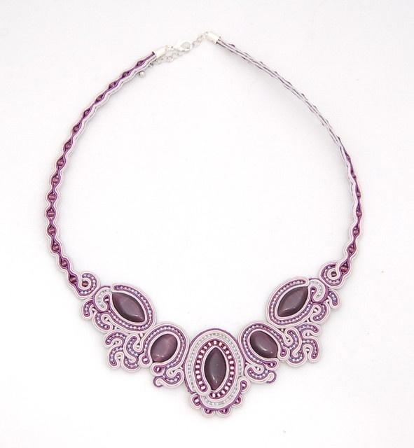 naszyjnik sutasz soutache necklace 1