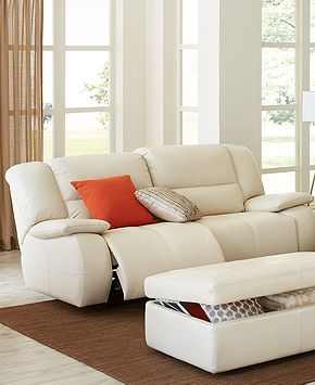 Franco Leather Sofa Living Room Furniture Collection Power Reclining
