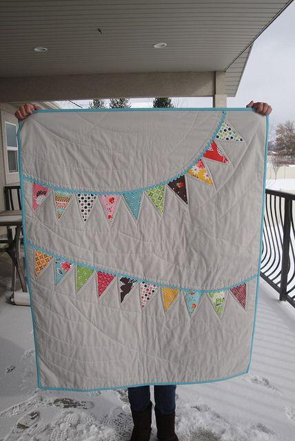 Flea Market Fancy banner quilt by ann-marie s.,