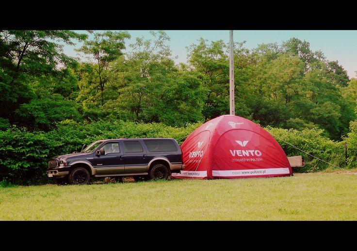 Namiot Vento w naturalnym środowisku :)