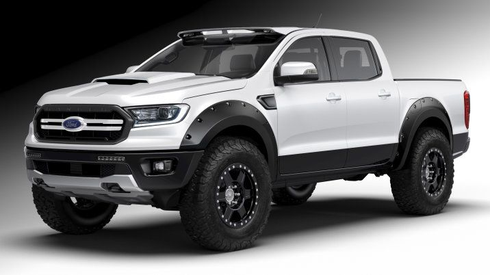 2019 Ford Ranger Shows How It Can Be Customized At Sema Ford Ranger Truck 2019 Ford Ranger Ford Ranger