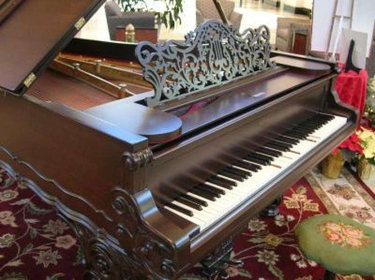 Weber Rococo Style Victorian Concert Grand Piano – Antique Piano Shop
