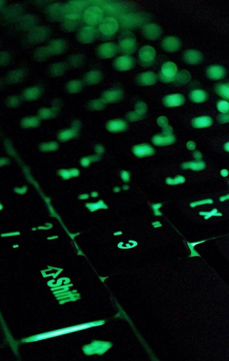 Green Razer Keyboard... It's awesome.