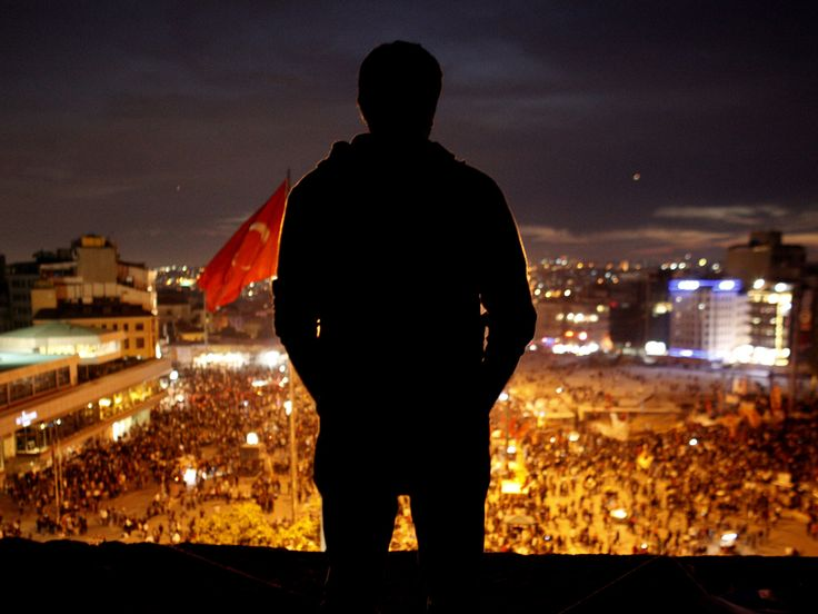The battle for Turkey in Taksim Square
