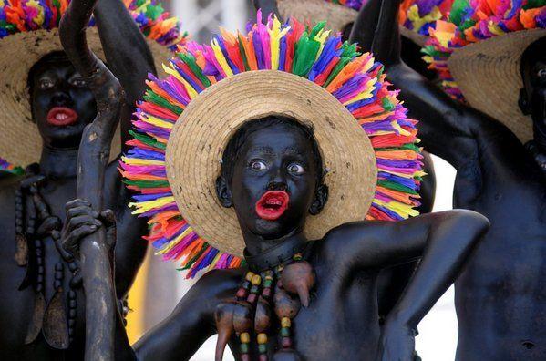 Carnaval de Barranquilla, Colombia, Son de Negro de Santa Lucia