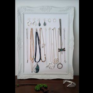 We love this jewellery organiser made by one of our clever team members. So easy to make, just click here to find out how: https://figandwattle.com.au/blogs/news/f-w-jewellery-storage … . . . #figandwattle #jewelleryhack #storage #craft #recycle #DIY #fashionhack #funky #cool #awesome #followme #fashionblog