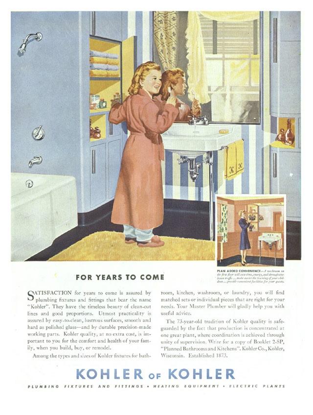 Vintage Kohler ad