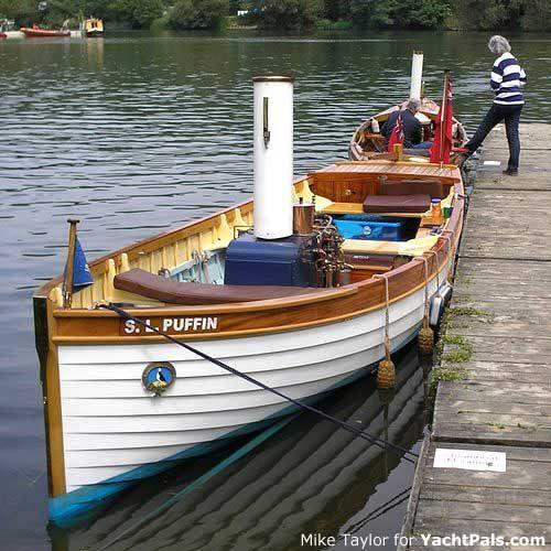 small wood boat