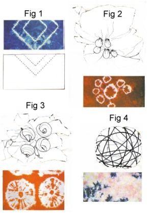 different bleach tie dye techniques