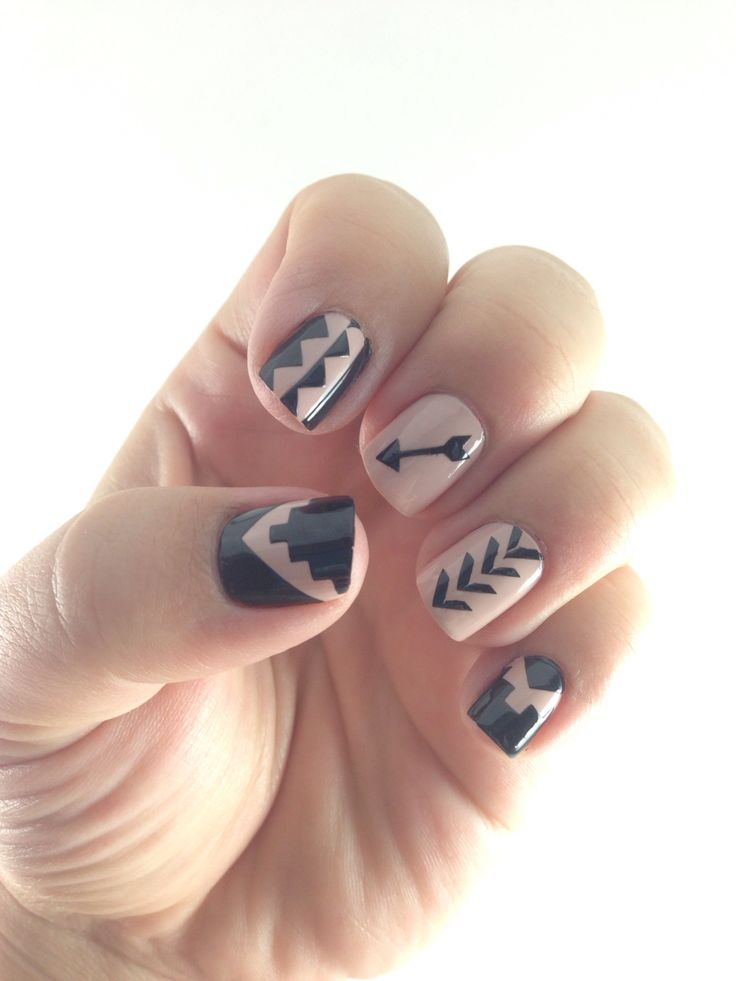 Best 25 tribal print nails ideas on pinterest nail pens nail aztec nail vinyls various designs tribal print prinsesfo Image collections