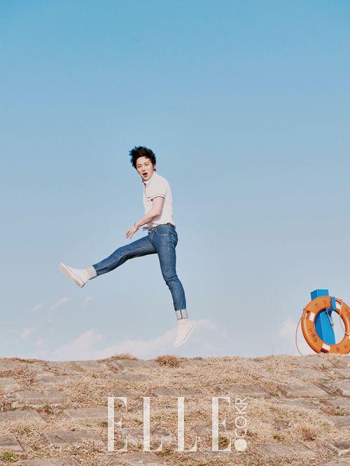 Byun Yo Han - Elle Magazine April Issue '15