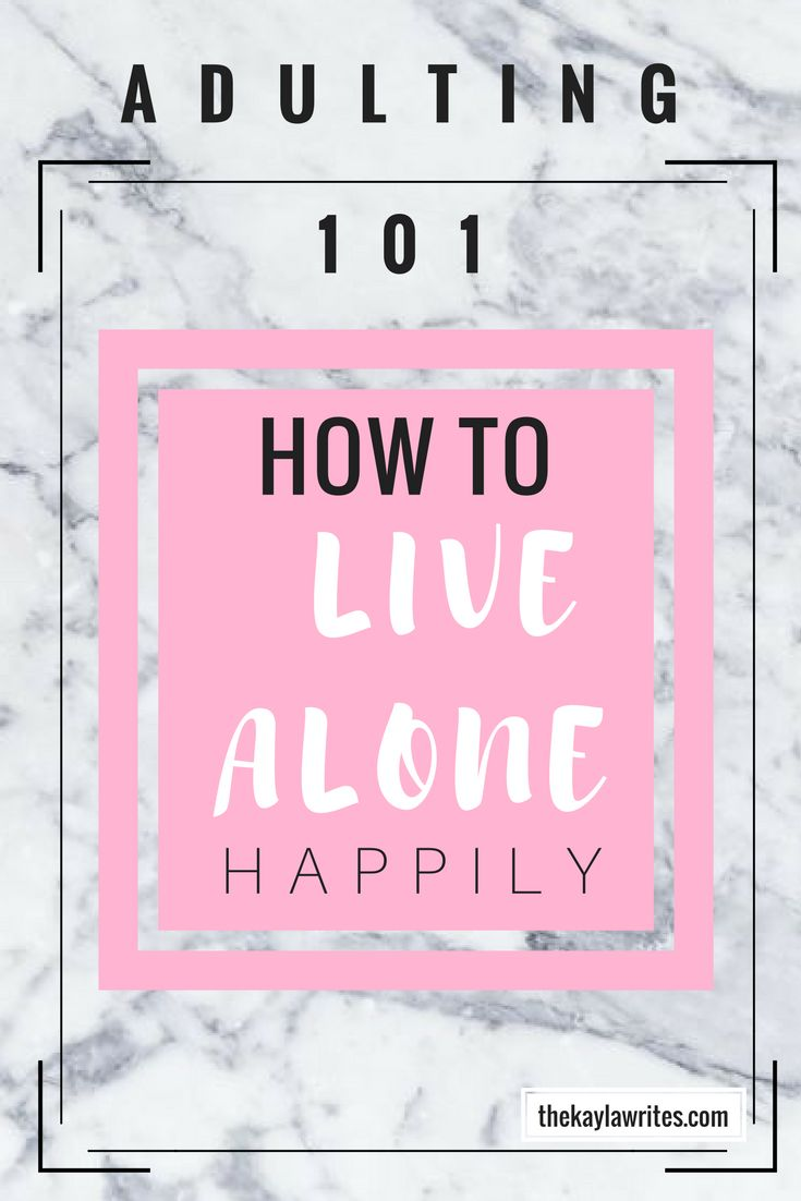 How to Live Alone Happily: Adulting 101    Living alone can be so difficult. Adulting is hard enough already, but living alone doesn't have to be! Here are my 5 tips for living alone!