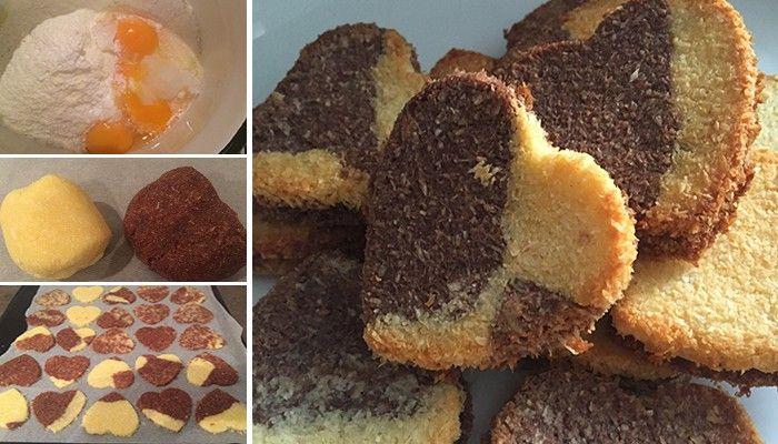 Není nic lepšího, když máte chuť na sladké, dát si koláček bez výčitek. Vynikající kokosové sušenky bez cukru a bez mouky.