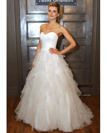Alita Graham for Kleinfeld fall 2011 - A-Line