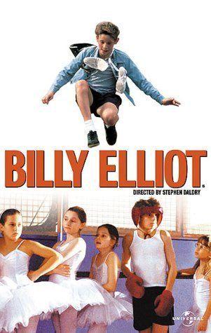Billy Elliot (2000) es una película británica dirigida por Stephen Daldry y protagonizada por Jamie Bell. Melvin Burgess escribió una novela basada en la película.