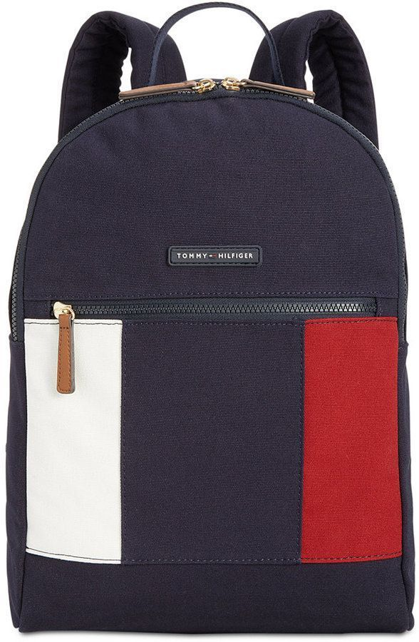Tommy Hilfiger Th Flag Backpack Reviews Handbags Accessories Macy S Tommy Hilfiger Bags Womens Backpack Bags