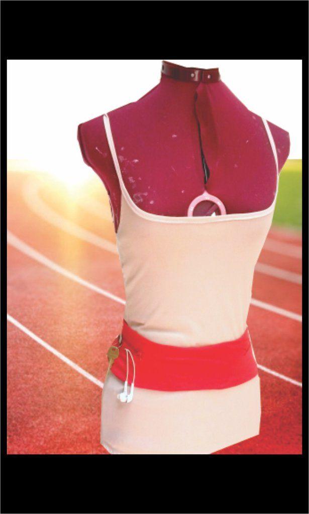 Runner's Slip on Belt Sewing Pattern, Athleisure Fashion