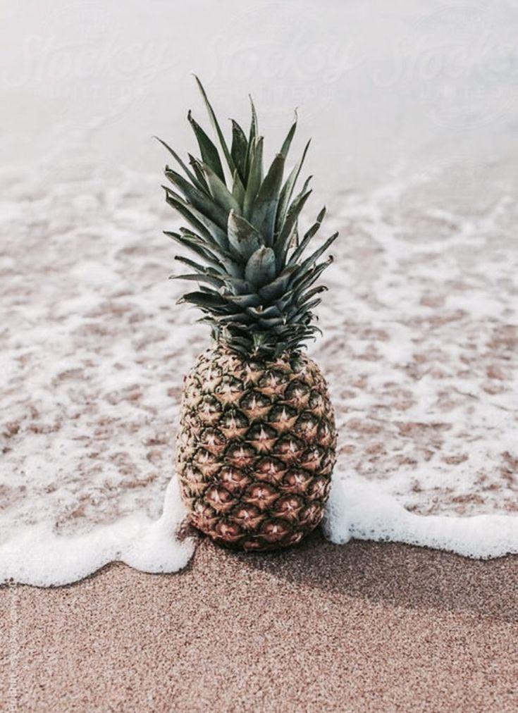 яркие летние картинки ананас пиво