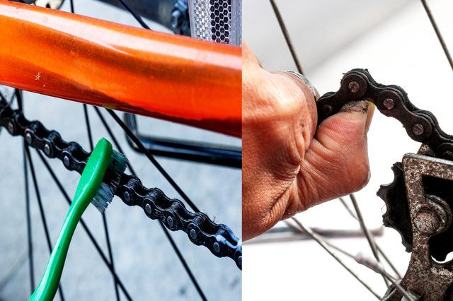 How To Remove Rust On A Bicycle Bike Chain How To Remove Rust Bike