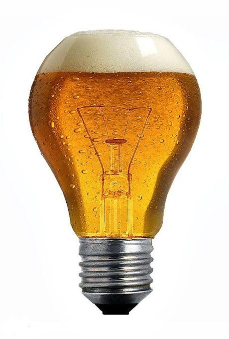 Que  buena idea, voy a hacer cerveza artesanal casera. Bombita de cerveza