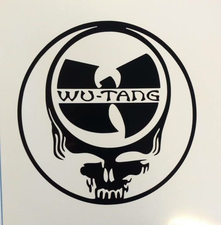 Grateful deadwu tang clandecal vinyl stickerfestivalhip hopsteal your face