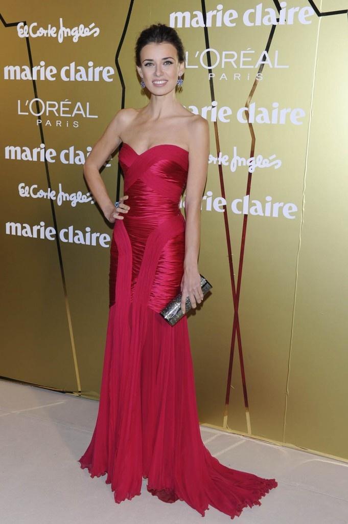 Premios Marie Claire 2011: Natasha Yarovenko, con un favorecedor Zuhair Murad. #Moda
