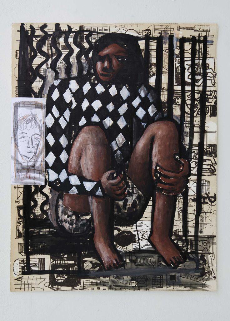 "Amadou Camara Gueye, ""Untitled"", 2013, 30 x 50 cm, Courtesy Carpe Diem Gallery Amadou Camara Gueye"