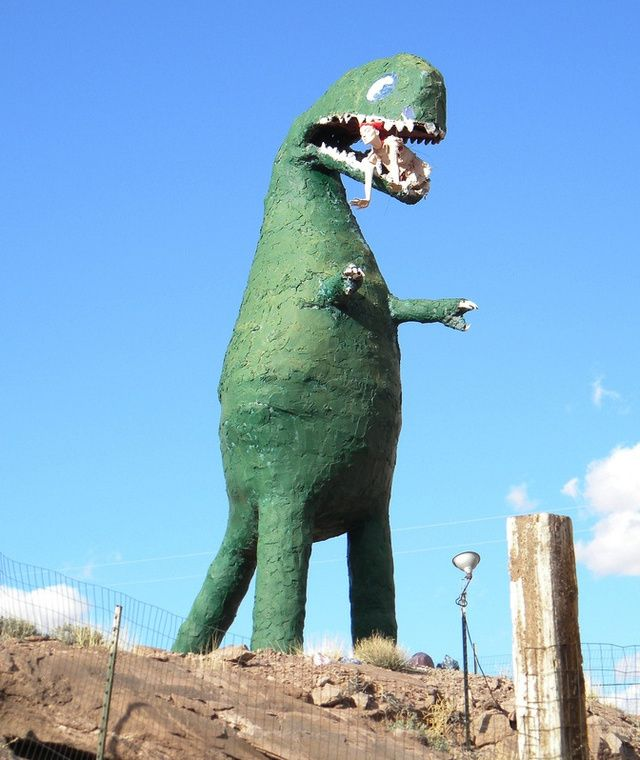 Dinosaur Statues