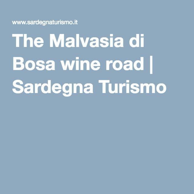 The Malvasia di Bosa wine road | Sardegna Turismo